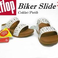 sandal fitflop biker slide 100% original