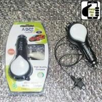 Jual CAR CHARGER / CASAN MOBIL TARIK 3IN1 ADDS MICRO USB NON PACK MURAH Murah