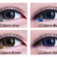 soflens Living color adore Softlense Gray Blue Brown Violet softlens