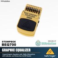 Behringer BEQ700 7 Band Graphic Equalizer Efek Stompbox Bass Elektrik