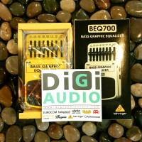 Behringer BEQ700 Ultimate 7 Band Graphic Equalizer effect pedal