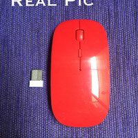 Apple Mouse Magic Wireless RED 2,4GHz 1600DPI Laptop Desktop