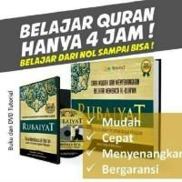 Jual METODE RUBAIYAT cetakan terbaru per 1 maret + DVD original berhologram Murah