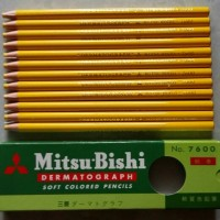 Pensil Dermatograph Mitsubishi - 7600
