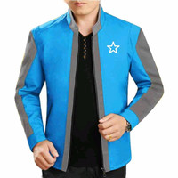 WinKin - Jaket Star - Turkis Abu