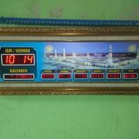 Jam dinding digital untuk masjid bergaransi