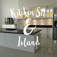 Jual Kitchen Set Modern Minimalis Murah Semarang Murah