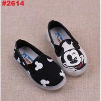 harga Sepatu Anak Slip On Lighting Mickey Hitam (21-25)(rsby-2614) Tokopedia.com