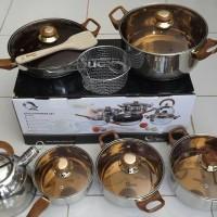 Jual Panci Set Oxone  ox-933 Eco Cookware Murah