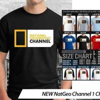 [DISKON] Kaos NEW Nat Geo Channel 1 CR - Distro Ocean Seven