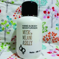 [300ml] Body Lotion Musk by Milano Ashley / Halal / BPOM