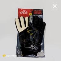 Sarung Tangan Kiper SPECS Geronimo GK Gloves Black/White Pakai Tulang