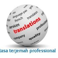 BERGARANSI ...jasa translate professional Bahasa Inggris - Indonesia