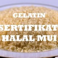 Jual Gelatin Halal / Gelatin Halal Murah / Gelatin Halal Eceran / Powder Murah