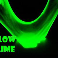 GLOW IN THE DARK SLIME 50ml / gid tofu puding 50 cc powder squishy