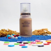 INEZ 900 Lustrous Liquid Foundation / alas bedak