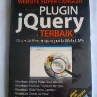 buku komputer website super canggih dengan plugin jQuery terbaik