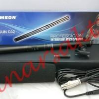Mic Condensor Samson Gun C02 ( Shotgun/Telescopic Microphone )