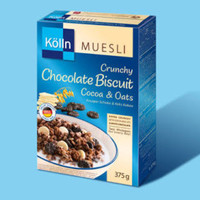 Kolln Muesli Crunchy Chocolate Biscuit Cocoa & Oats Cereal Sereal Impo