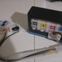 tabung infus original epson L210 cabutan printer