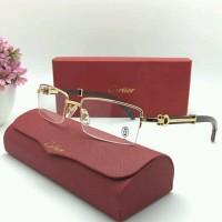 Frame Kacamata Premium Cartier 61399852 Gold