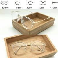 Jual Frame Kacamata Dior 8937 bening Transparan Kacamata korea Murah