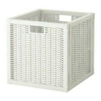 IKEA BRANAS Keranjang, putih, 32x34x32cm