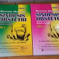 Sinopsis Obstetri Edisi 3 Jilid 1 & 2 (Set) - Rustam Mochtar