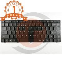 Keyboard MSI FX400, FX420, FX600, FX620 - Black