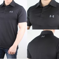 Jual POLO SHIRT UNDER ARMOUR COOLSWITCH POLYESTER LOOSE FIT IMPOR PREMIUM Murah