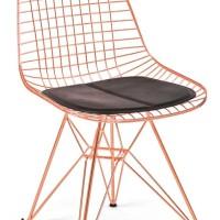 kursi teras, kursi makan besi bergaya retro modren