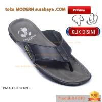 harga Pakalolo 02329 B No 43 Sandal Pria Casual Slop Slip On Flip Flop Tokopedia.com