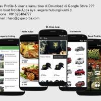 Mobile Apps Profile Perusahaan dan Online Shop