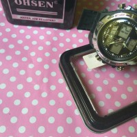 Jam Tangan Pria Original Ohsen Anti Air Dual Time Digital Led Asli