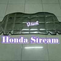 Honda Stream peredam silver kap mesin
