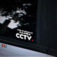 Harga Stiker Cctv 10cm 1pcs Pengaman Mobil Dari Niat Pencuri Cutting Sticker | WIKIPRICE INDONESIA