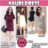 Dress kaos polos/mini dress/casual dress/dress casual polos/hexohm bkk