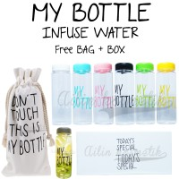 MY BOTTLE / Infuse water [ FREE BAG + BOX ]
