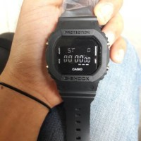 CASIO GSHOCK DW-5600 FULL BLACK