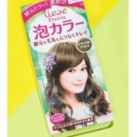 Jual Liese Prettia Bubble Hair Color Japan (Color Ash Brown / Natural Ash) Murah