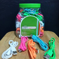 New Hippo Caby Lightning Toples (Isi 50 Pcs) - Kabel Data & Kabel Char