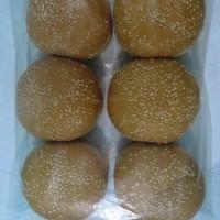 Khusus GOJEK-GOSEND - Roti Burger Wijen isi 6 pcs