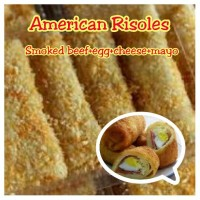 Jual American Risoles, Risoles Smoked beef, Risoles Mayo Murah