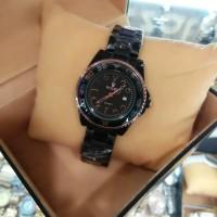 Rolex mini keramik, jam tangan wanita, tgl aktif/on, kw super