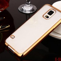 Softcase CHROME Samsung S3 / S4 / S5 Casing TPU Cover HP Silicone Case