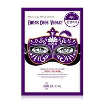 Mediheal Mask Dress Code Violet, Masker Mediheal Dresscode Ungu Paling