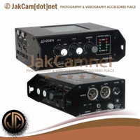 JC02 | Azden FMX-32 3-Channel Portable Field Mixer