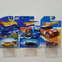 HOT WHEELS MINI COOPER PACKAGE SET PAKET HOTWHEELS ONESTOPSHOPZ OSS
