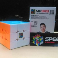 Rubik 3x3 MF3rs Moyu Stickerless | MF3 V2 with Logo MF3 RS