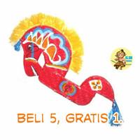 Kerajinan Kuda Lumping untuk anak SD, Promo: Beli 6 gratis 1